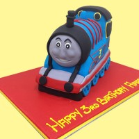 Thomas the Tank Engine Custom Cake