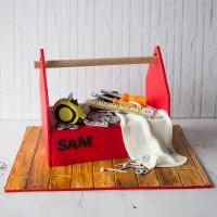 Tool Box Celebration Cake
