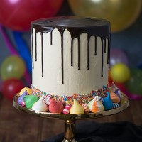 Ultimate Birthday Drip Cake