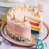 Unicorn Cake interior