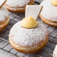 Vanilla Slice Donut