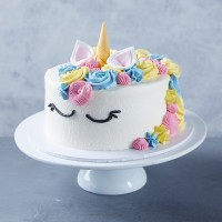 Vegan Unicorn Cake