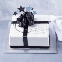 Starlight Present Cake - Square