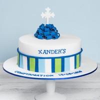 Custom Christening Cake