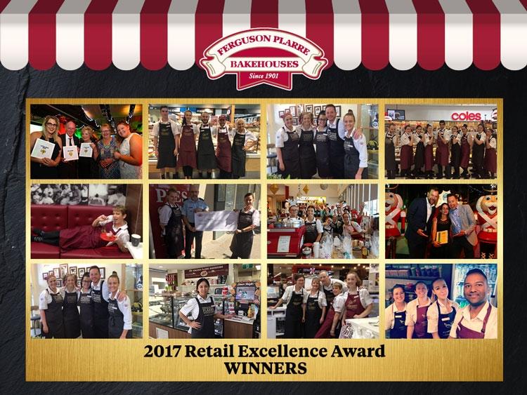 Ferguson Plarre's 2017 Retail Gala Excellence Award Winners