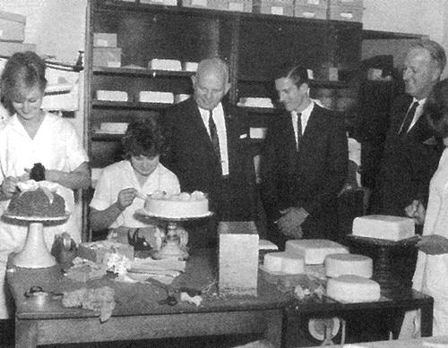 Bob Ferguson & his Cake Decorators