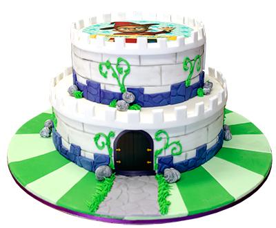 Cakes Alive Castle Cake