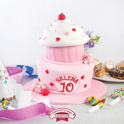 Custom-made celebration cake