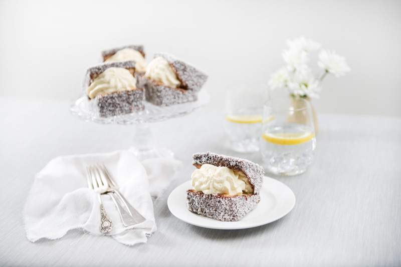 Chocolate Lamington