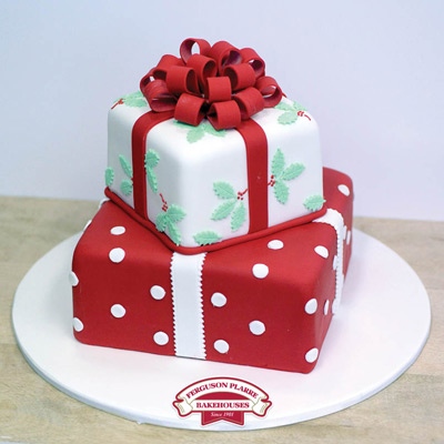 Custom-made Christmas Cake