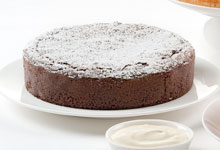 Award winning Flourless Chocolate Truffle Cake