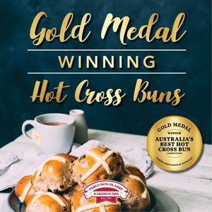 Gold Medal Winning Hot Cross Buns