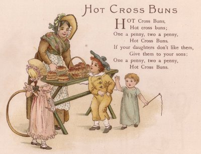 Hot Cross Bun History