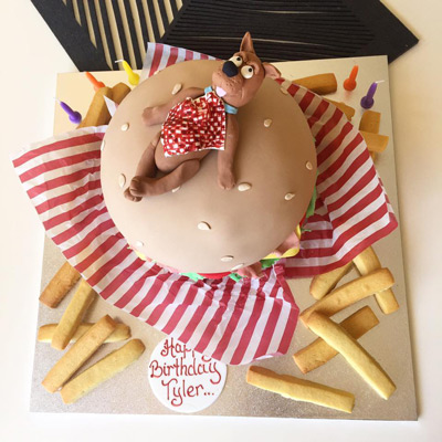 Custom-made Birthday Cake