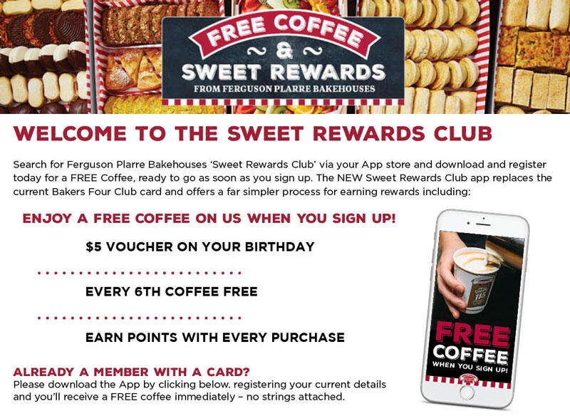 Welcome to the Sweet Rewards Club