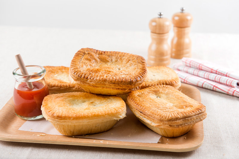 Mix of Meat Pies