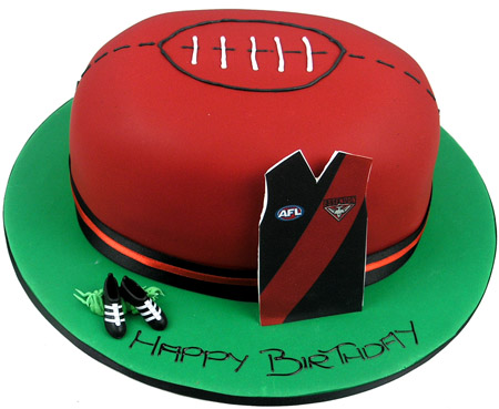 AFL Birthday Cake
