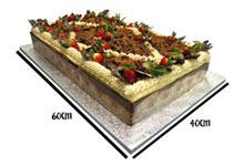 Giant Mousse Cake