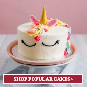 Search for our most popular cakes